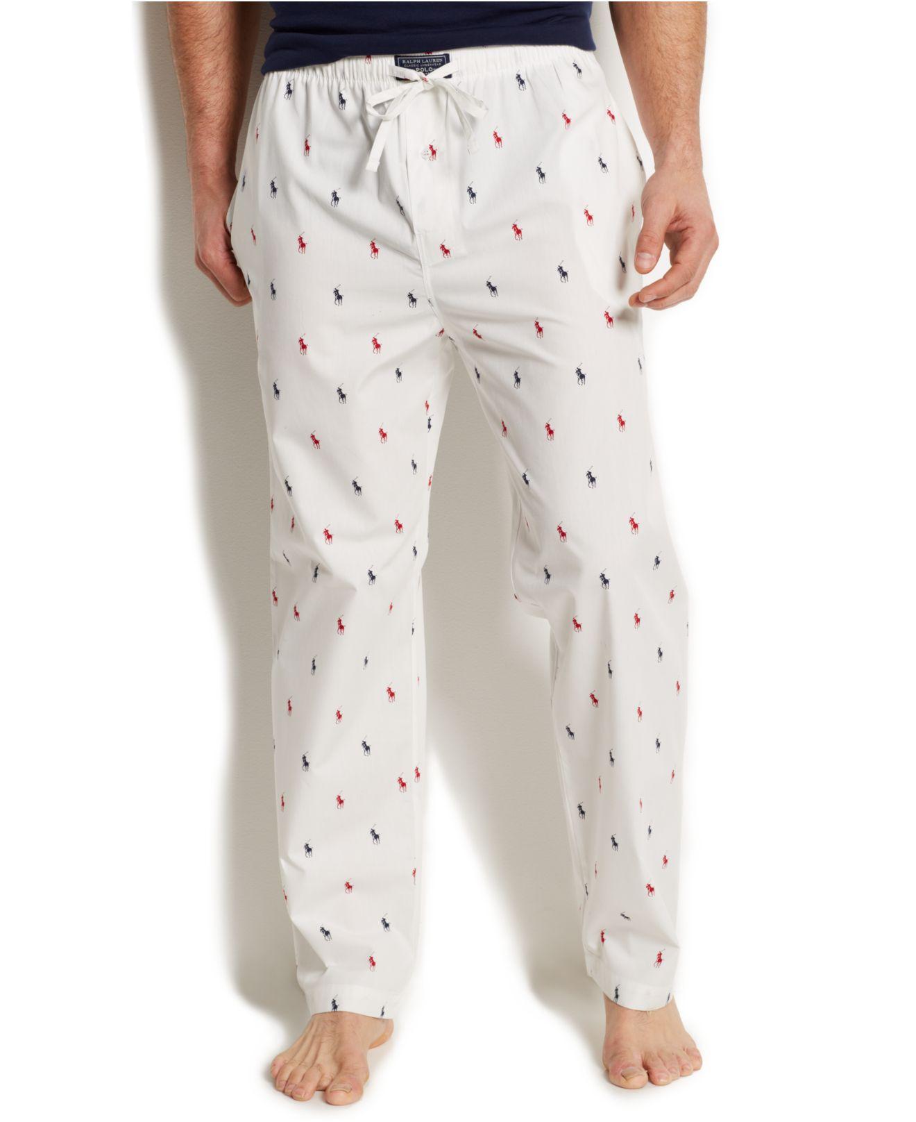 Pantalones hombre salón de de con Polo cintura para Ralph marca Lauren chándal jq54RA3L