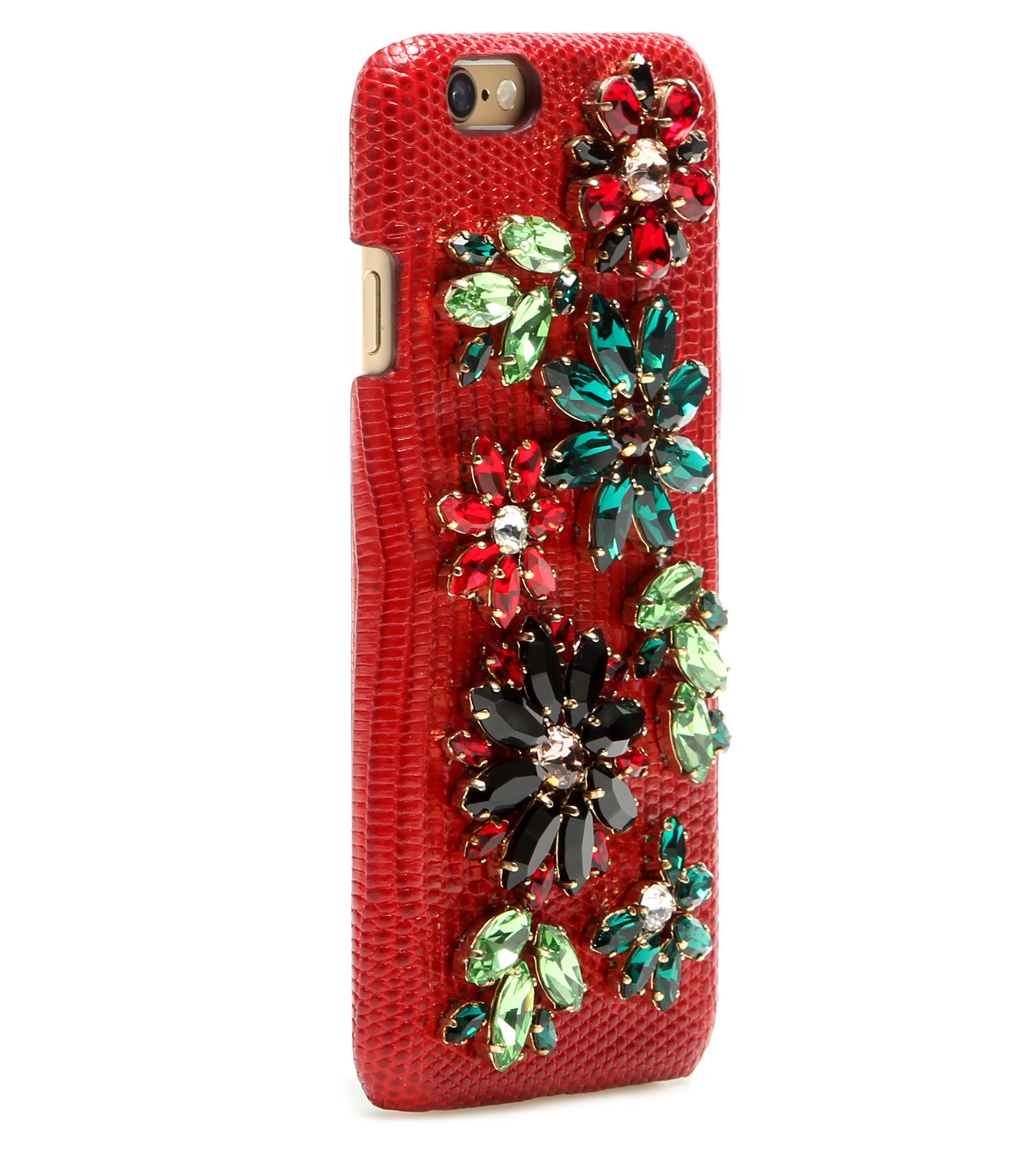 Embellished leather iPhone 6 case Dolce & Gabbana 3wfNM