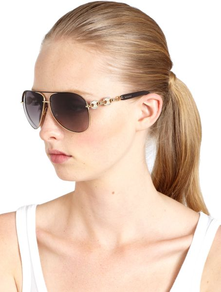 Gold Aviator Sunglasses For Women Aviator Sunglasses in Gold