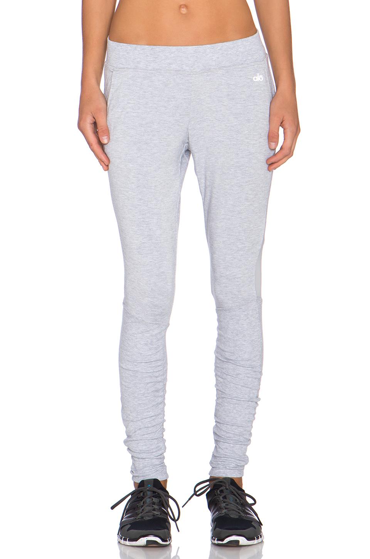91d41e35b6 Alo Yoga Yen Sweatpant in Gray - Lyst
