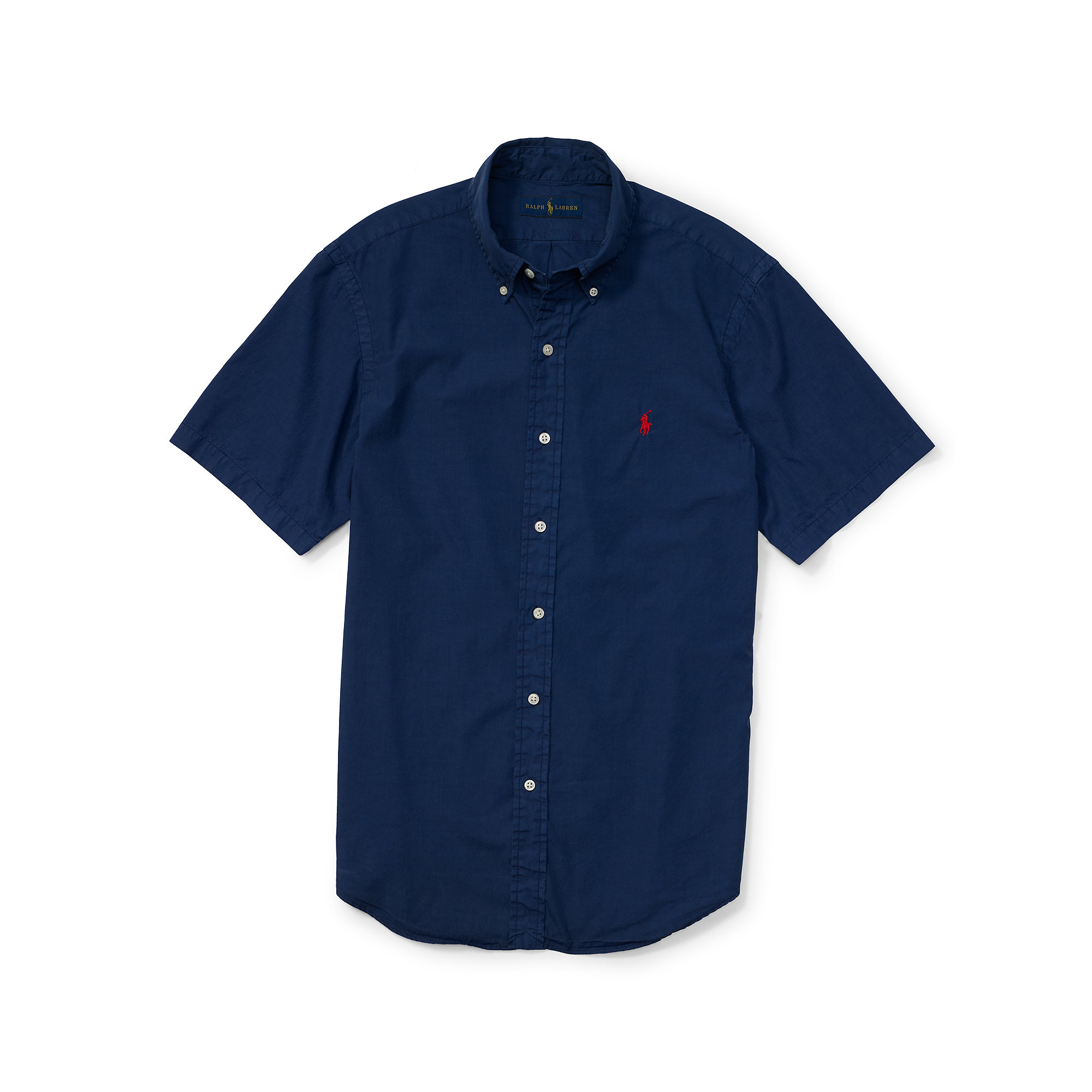 Short Sleeve Ralph Lauren Shirt Navy - BCD Tofu House 94a28fededfc
