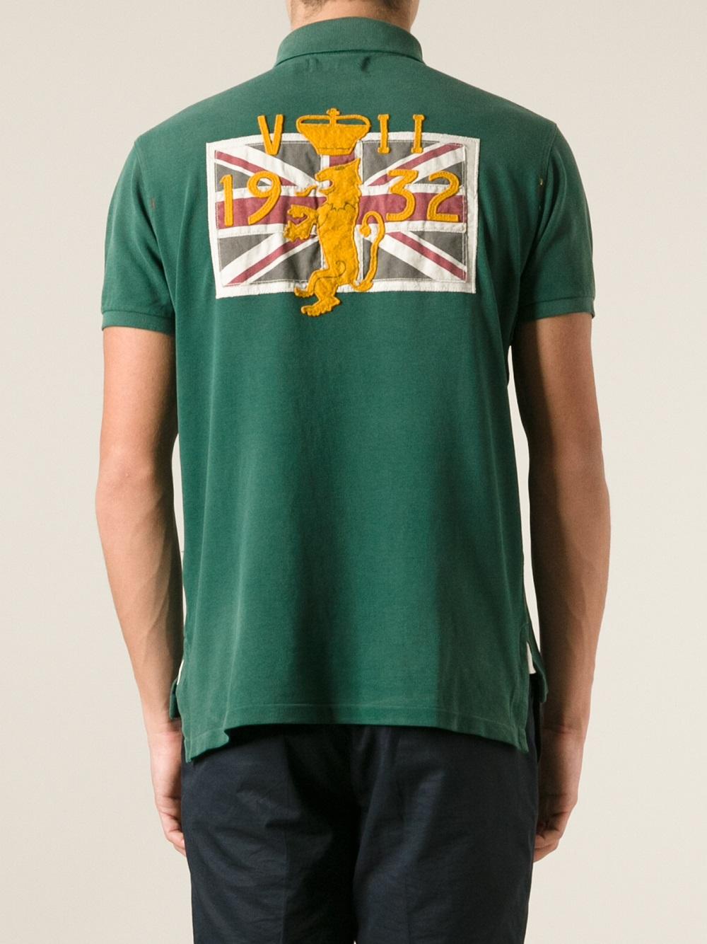 Lyst Polo Ralph Lauren Short Sleeve Polo Shirt In Green
