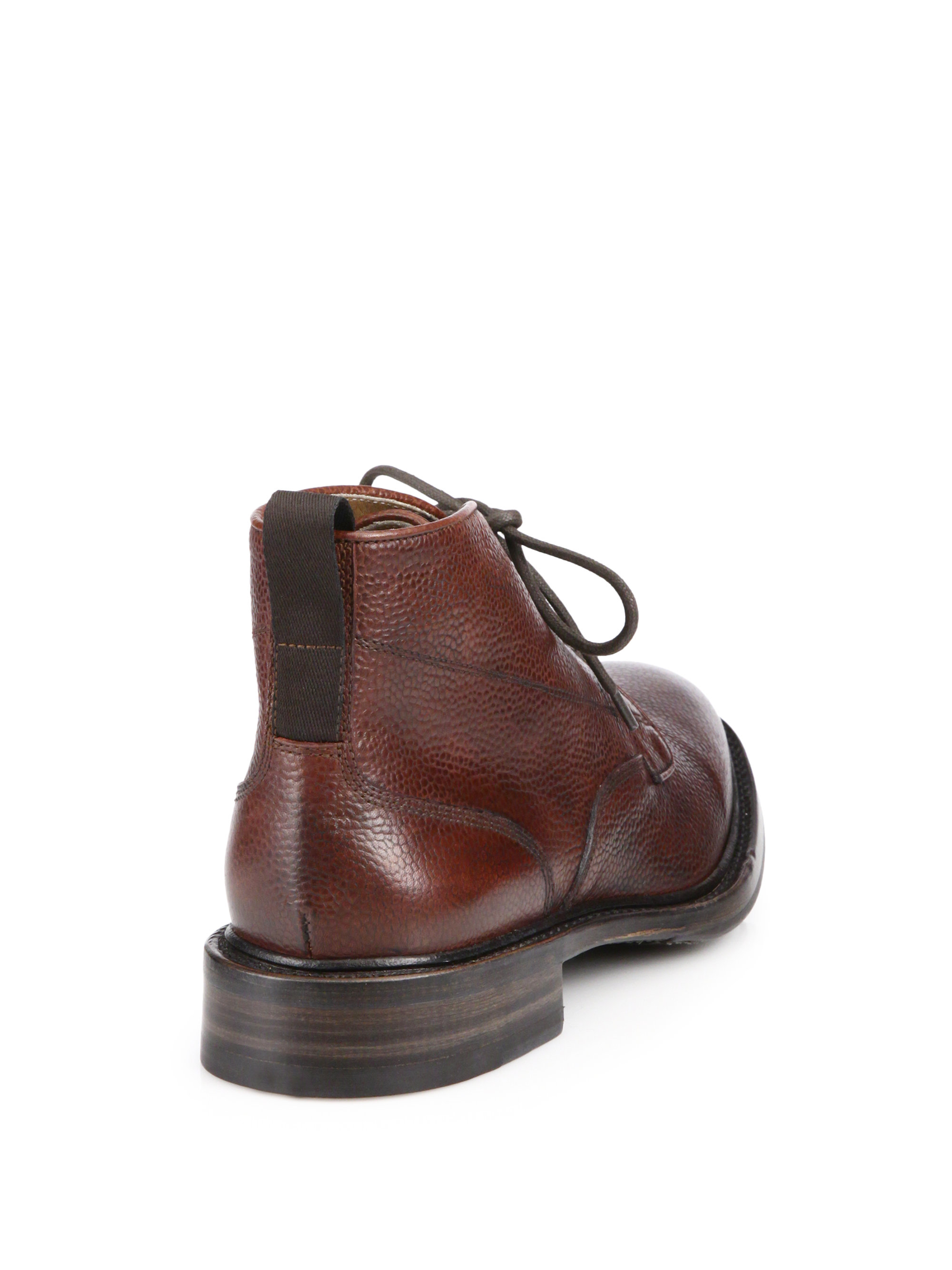 Rag & bone Spencer Leather Chukka Boots in Brown for Men   Lyst