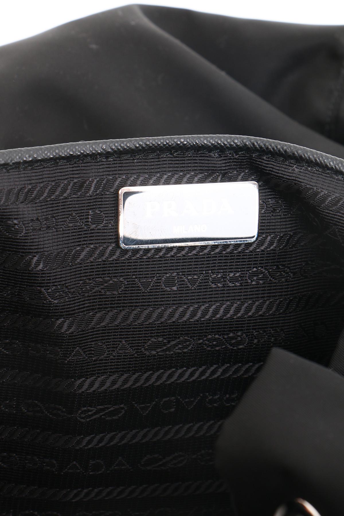 Prada Borse Vela in Black (Nero) | Lyst