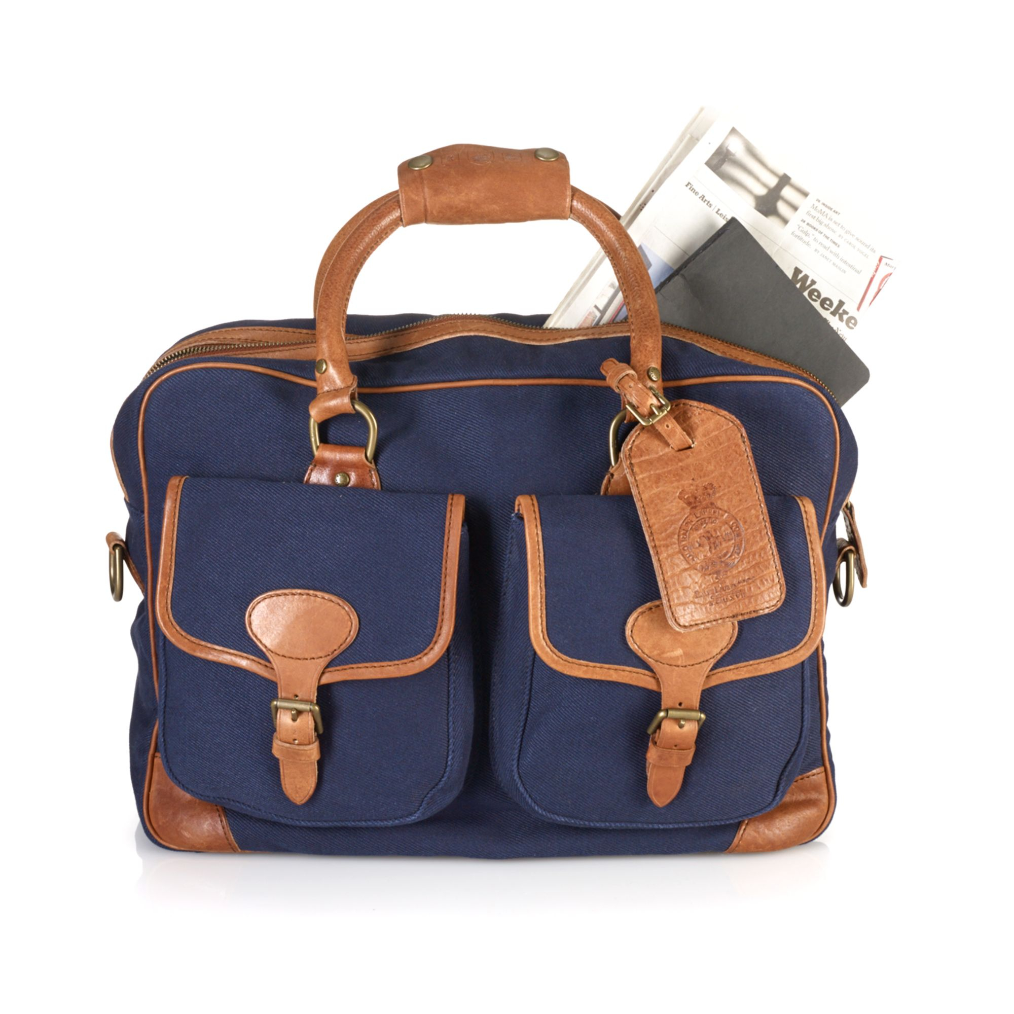 0637b24916 ... cheapest lyst ralph lauren polo mens canvas commuter bag in blue for  men 85875 1bbf8