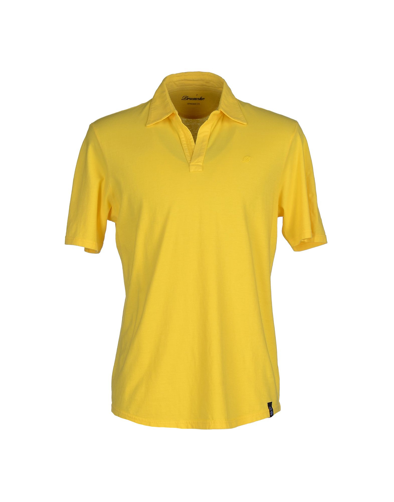 Drumohr Polo Shirt In Yellow For Men Save 59 Lyst