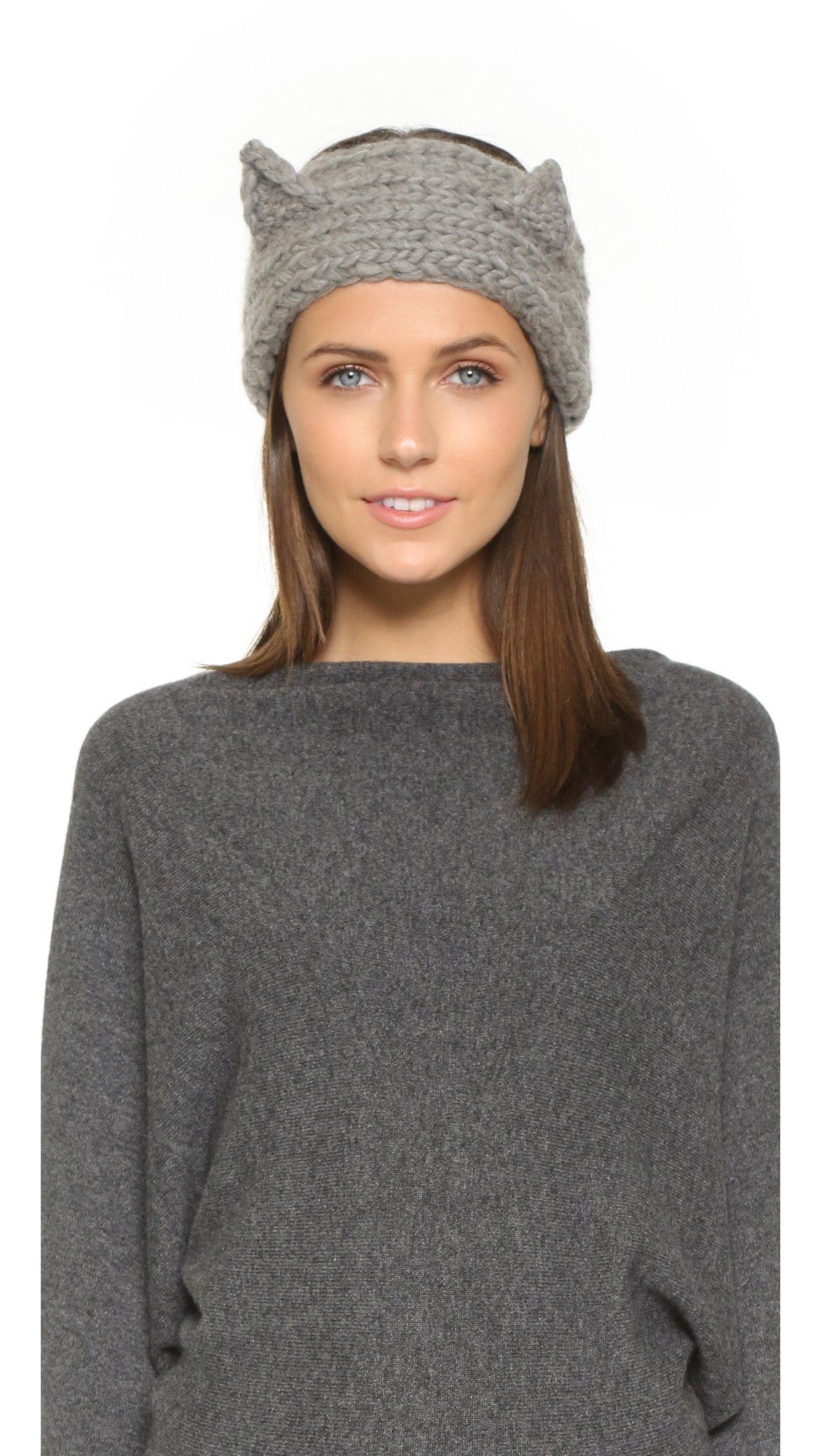 Lyst Eugenia Kim Kat Headband Light Grey In Gray