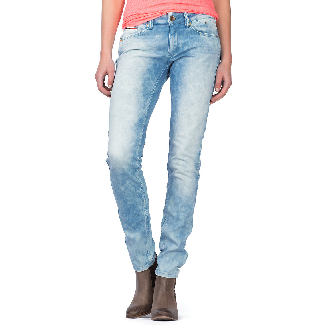a85c3548 Tommy Hilfiger Sophie Skinny Fit Jeans in Blue - Lyst