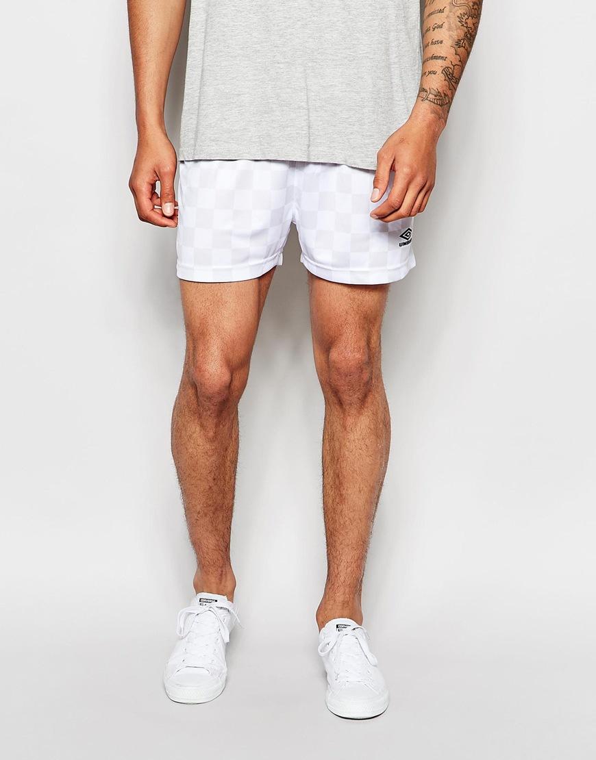 47d020d962 Umbro Rio Shorts in White for Men - Lyst