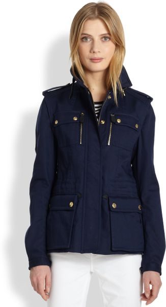 Burberry Brit Timberton Cargo Jacket In Blue Indigo Lyst