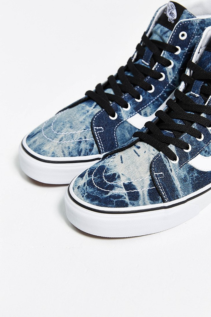 4d7c06eb08 Vans Sk8-Hi Reissue Acid Wash Sneaker in Blue for Men - Lyst