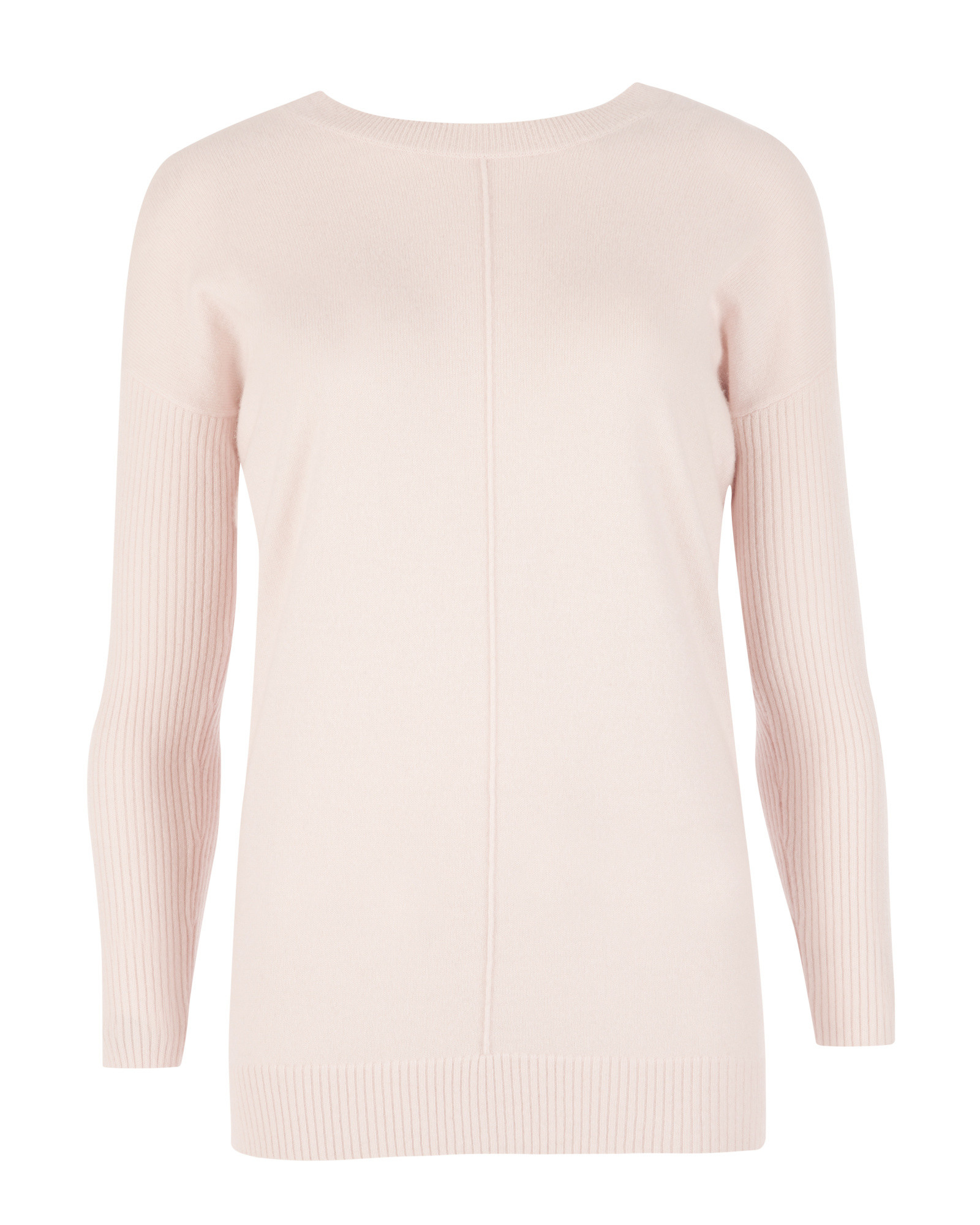 7446d70a49 Lyst - Ted Baker Cashmere Reversible Sweater in Pink