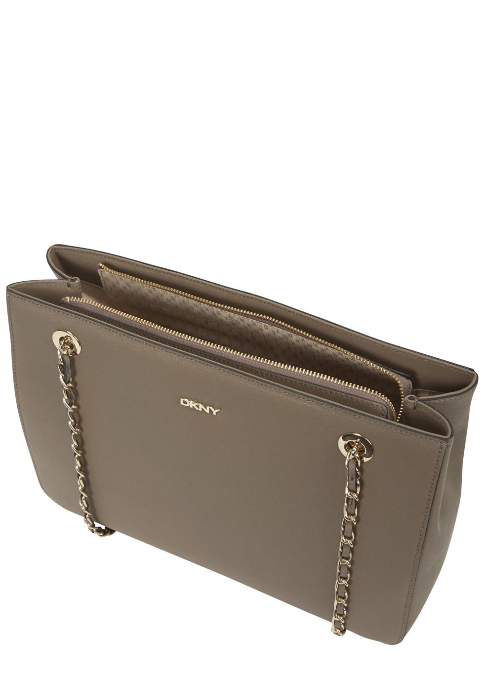Dkny Bryant Park Taupe Shoulder Bag in Gray | Lyst