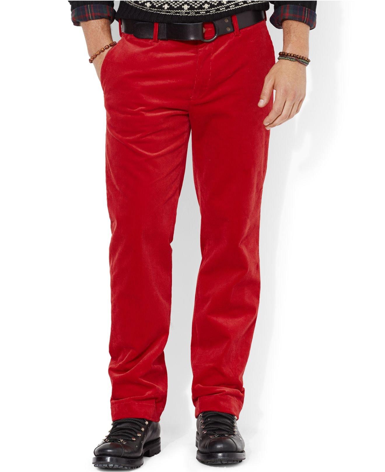 Polo Ralph Lauren Classic Fit Newport Corduroy Pants In