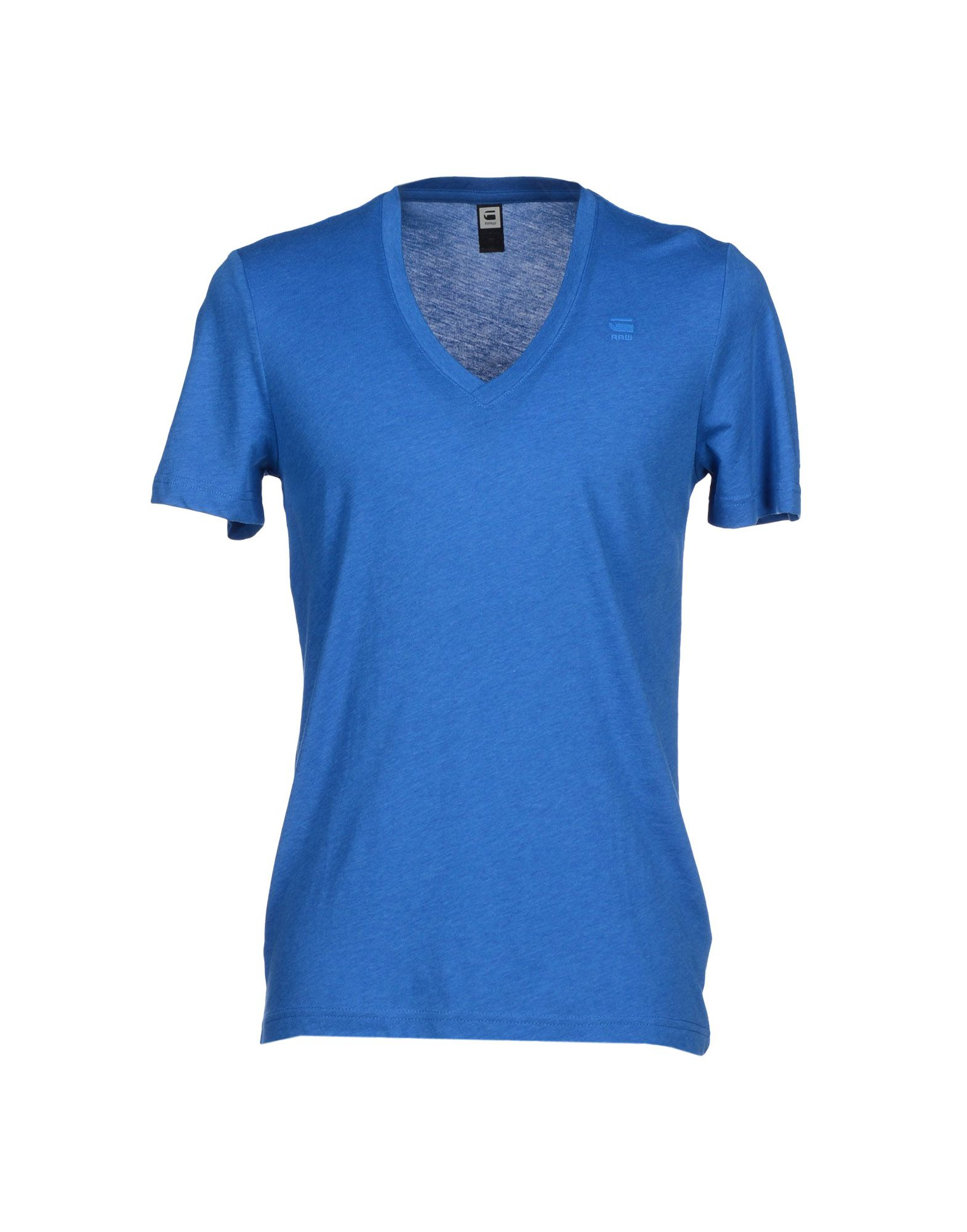 g star raw t shirt in blue for men lyst. Black Bedroom Furniture Sets. Home Design Ideas