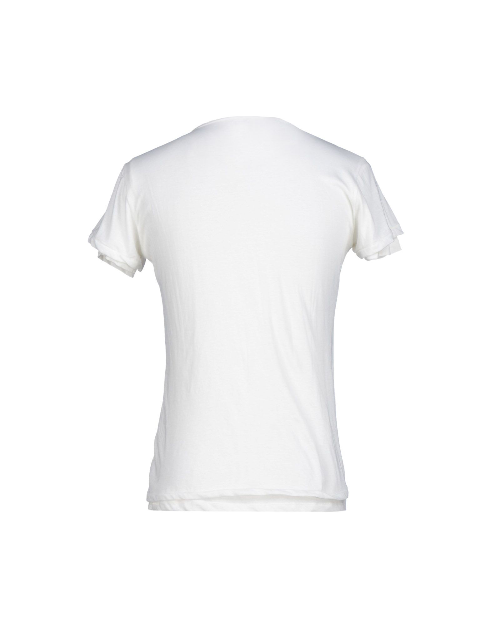 replay t shirt in white for men lyst. Black Bedroom Furniture Sets. Home Design Ideas