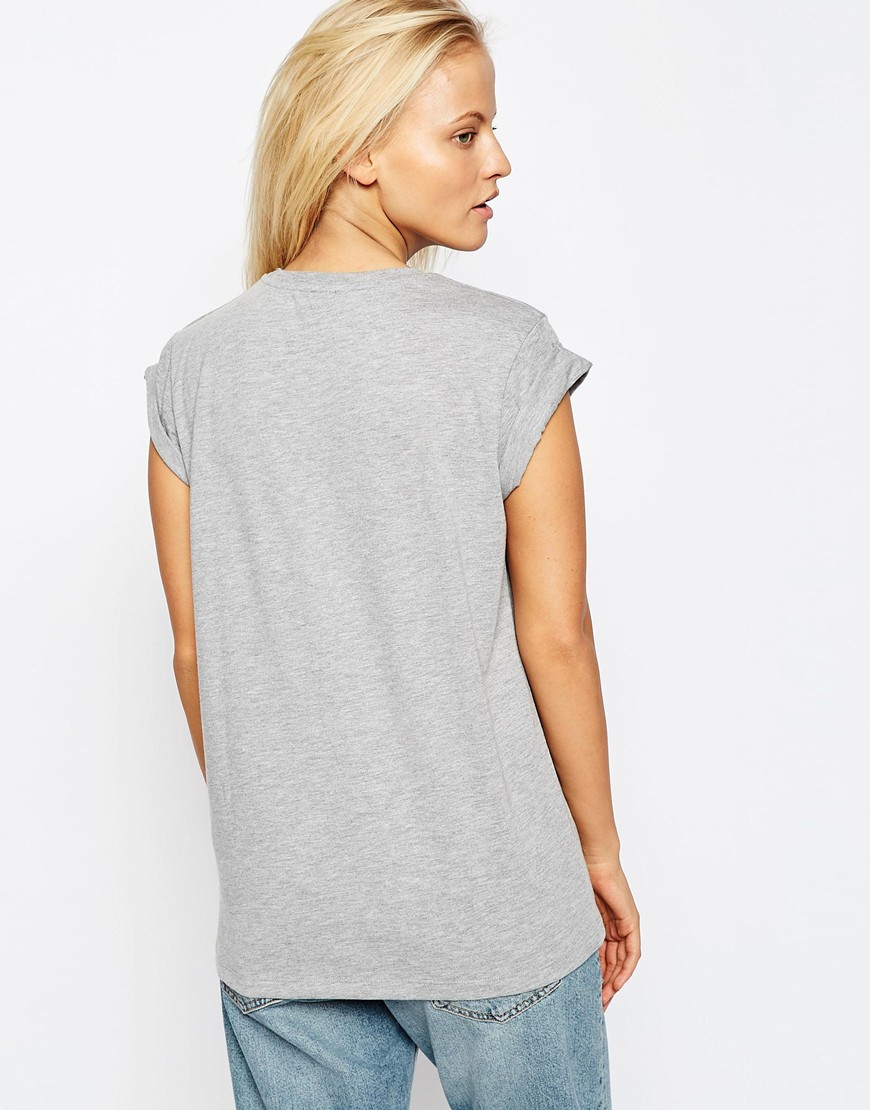 368b73ab ASOS The Ultimate Easy T-shirt in Gray - Lyst