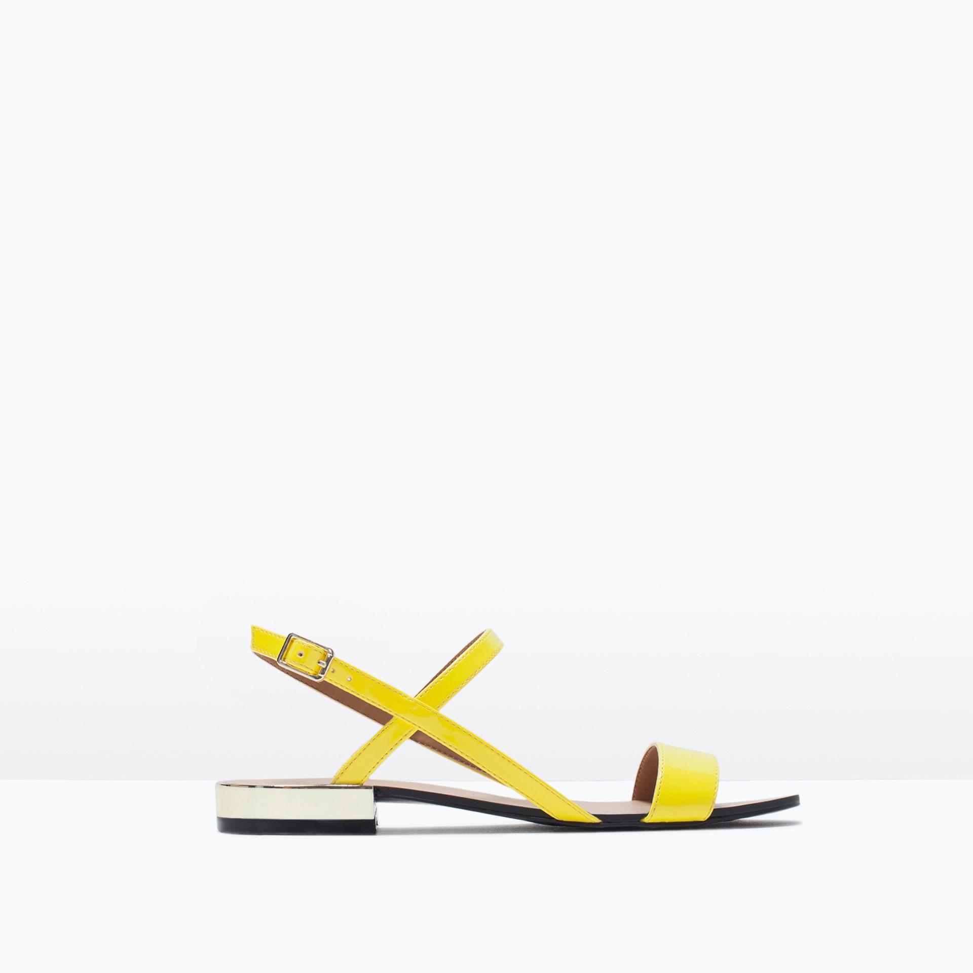 Zara Sandals Flat 90