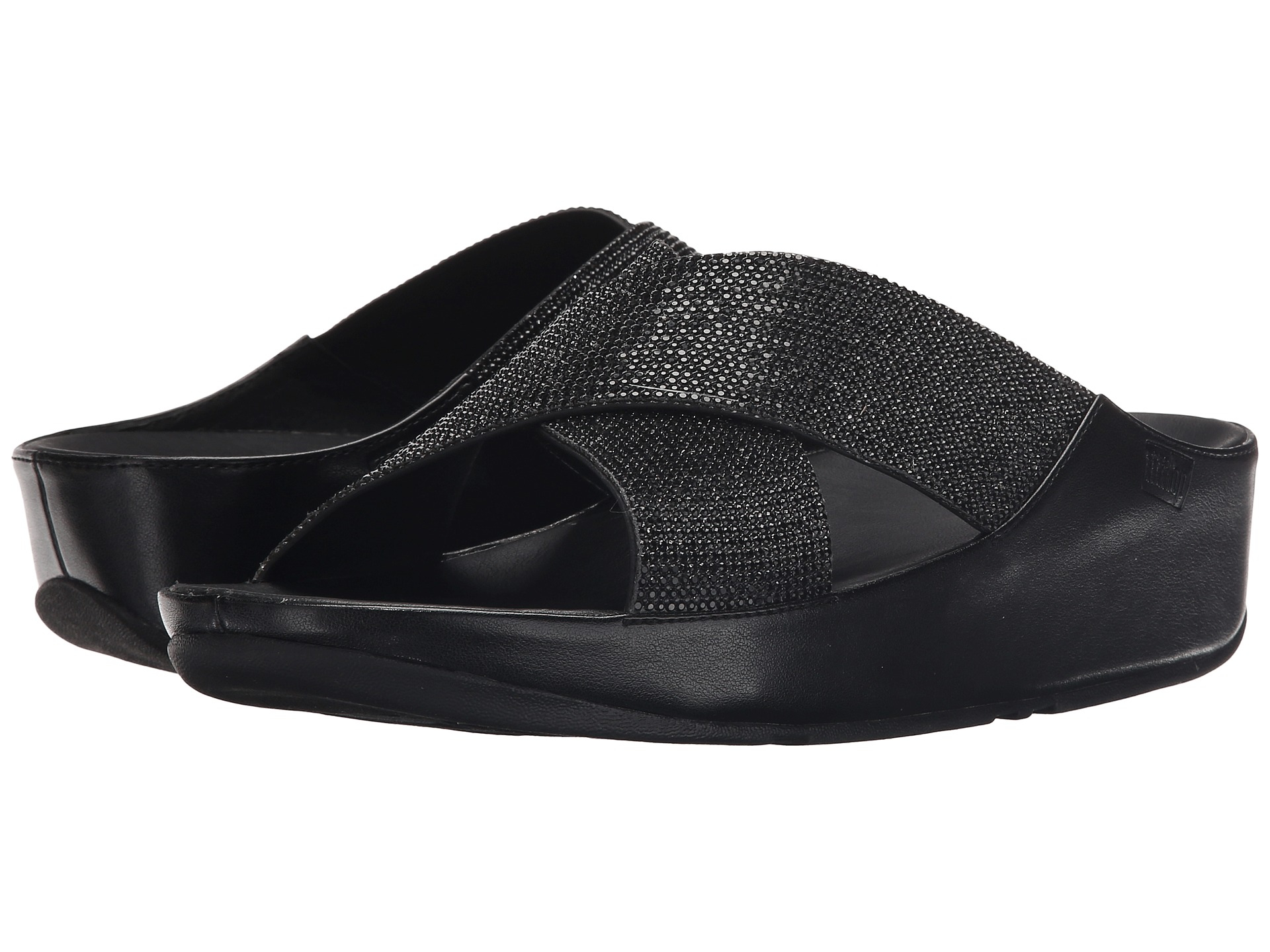 Precio increíblemente barato Crystall Slide - Black Último Barato Venta Low Shipping El más barato JYbGwKv