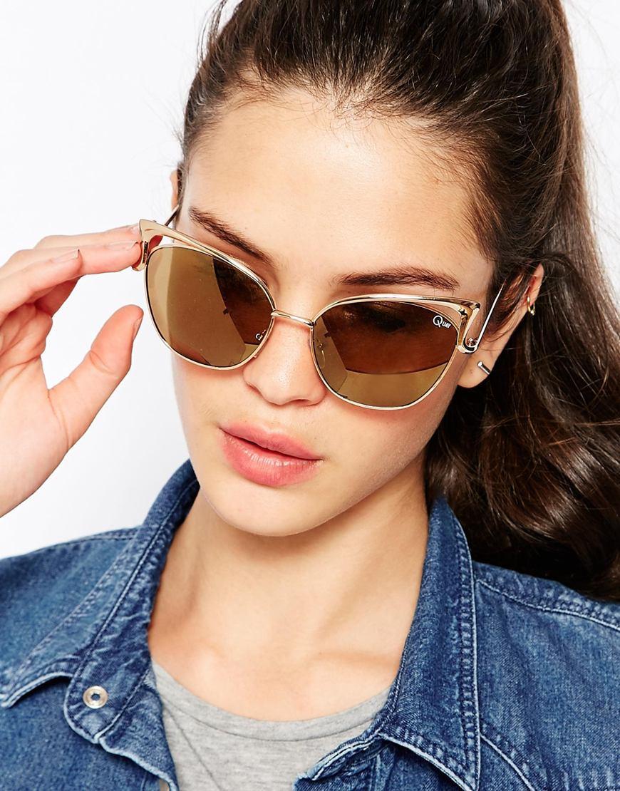 f9bcd09e9b Quay Cat Eye Sunglasses
