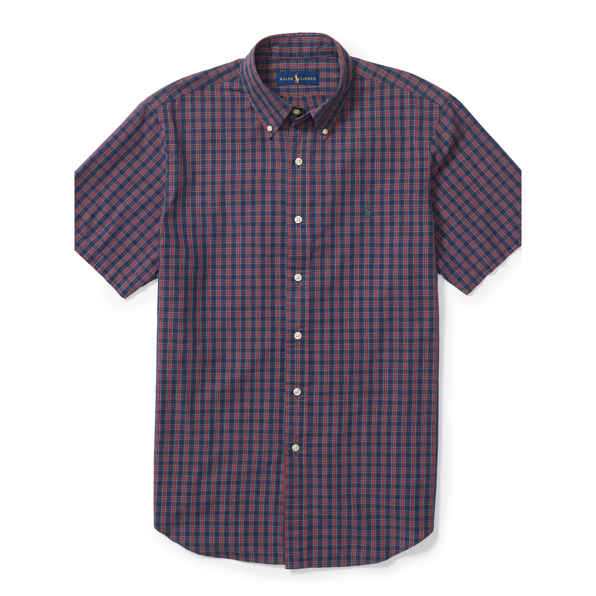 Polo Ralph Lauren | Purple Plaid Short-sleeve Shirt for Men | Lyst. View Fullscreen