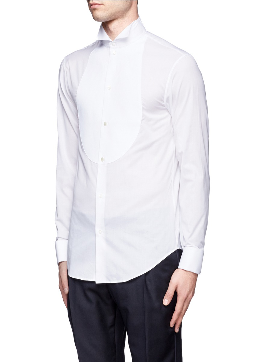 Slim Fit Dress Shirts Wing Collar Bcd Tofu House