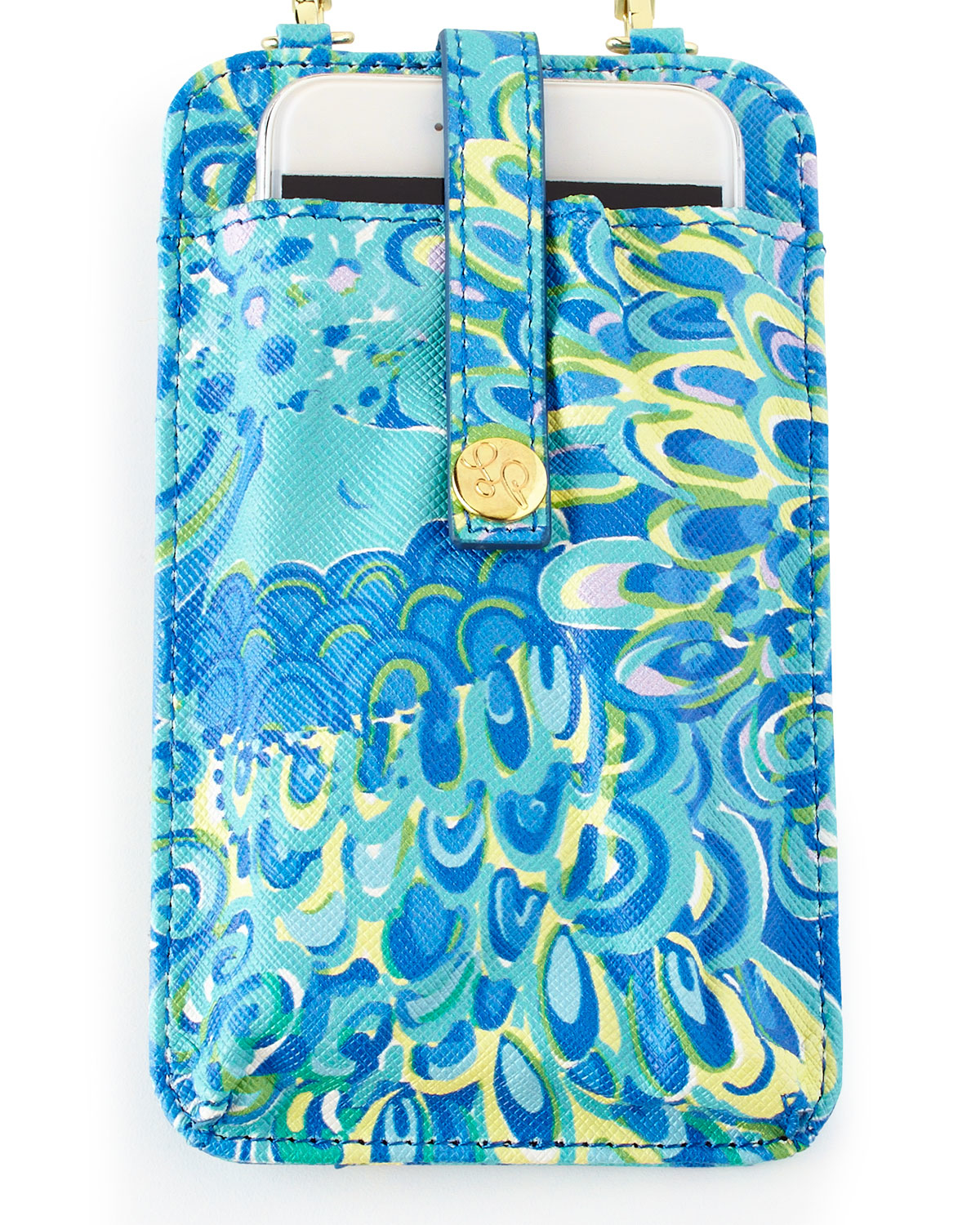Lilly pulitzer Sea Blue Lillys Lagoon Tiki Palm Iphone 6 Case in Blue ...