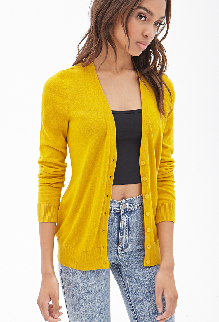 Forever 21 Classic Knit Cardigan You've Been Added To The Waitlist ...