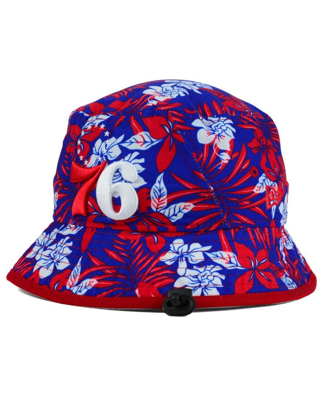 f8edd677e29 Lyst - KTZ Philadelphia 76ers Wowie Bucket Hat in Blue for Men