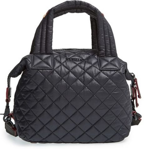 Mz Wallace Small Sutton Quilted Metro Nylon Crossbody