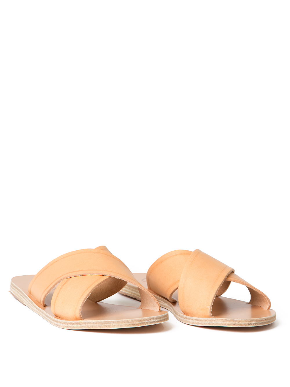 Ancient greek sandals Thais Slide in Natural