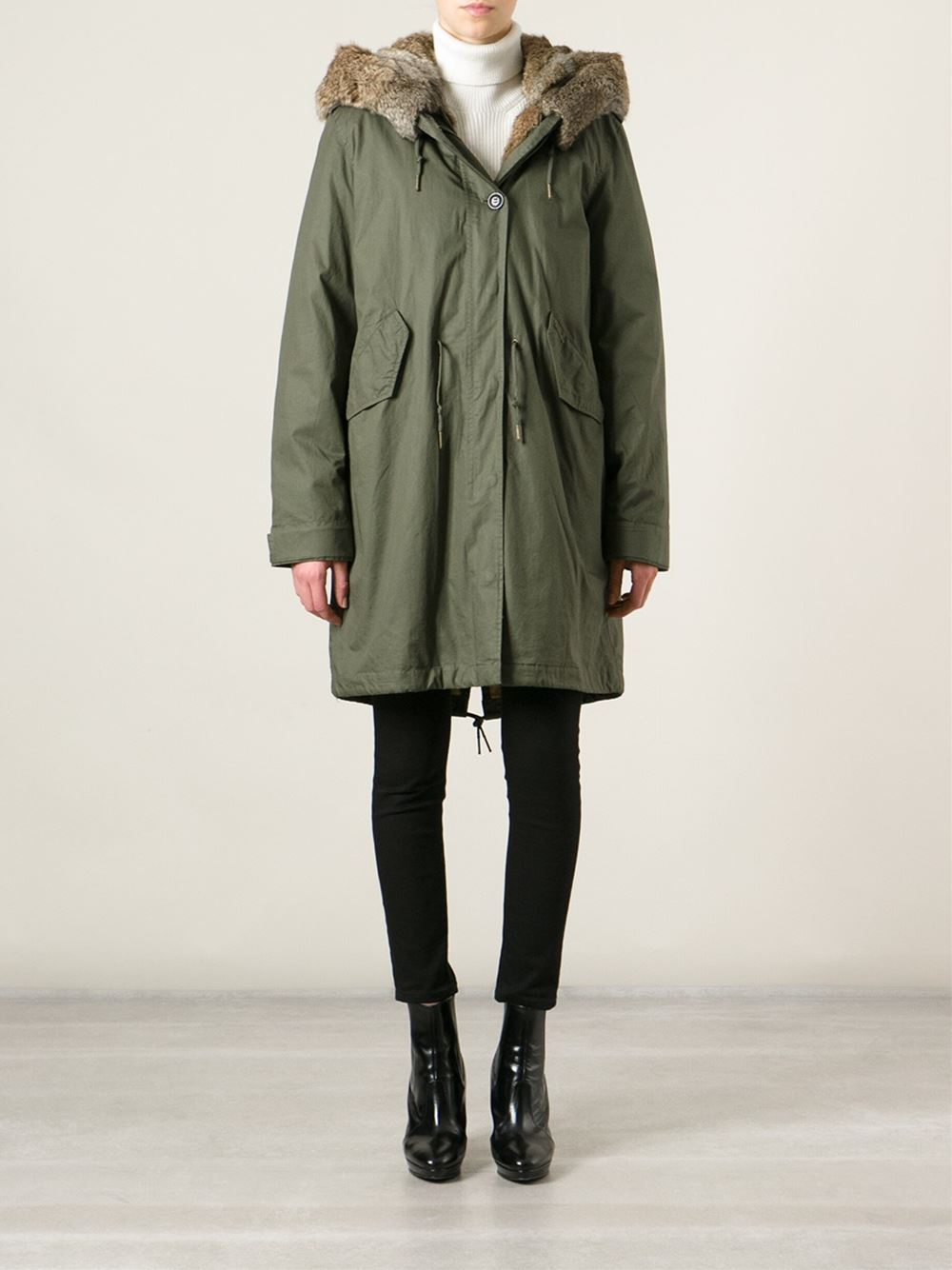 woolrich w 39 s eskimo parka literary walk olive green. Black Bedroom Furniture Sets. Home Design Ideas
