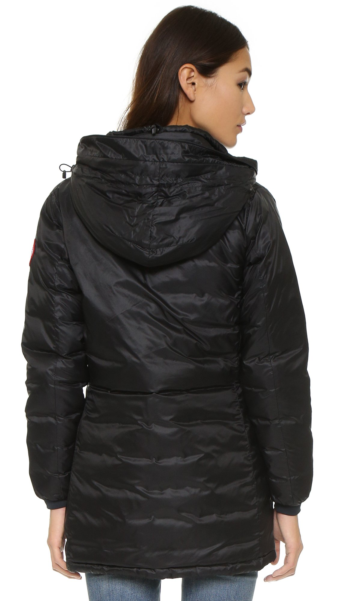 Canada Goose mens replica authentic - Canada goose Camp Hooded Jacket in Black | Lyst