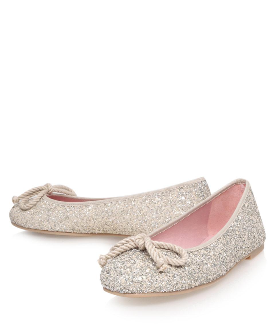 Lyst Pretty Ballerinas Glitter Ami Ballerina Flats In