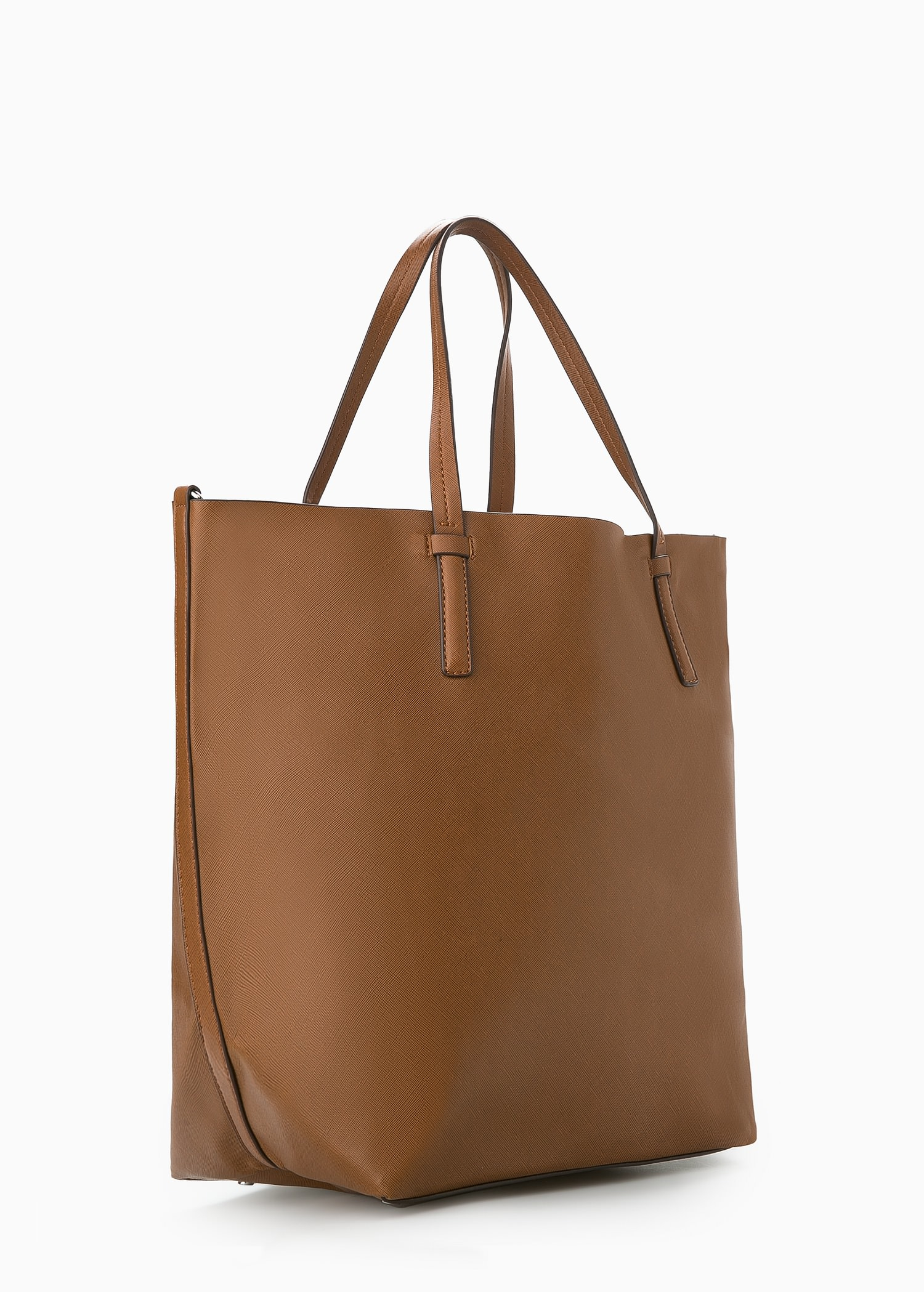Mango Cosmetic Bag Shopper Bag in Brown | Lyst