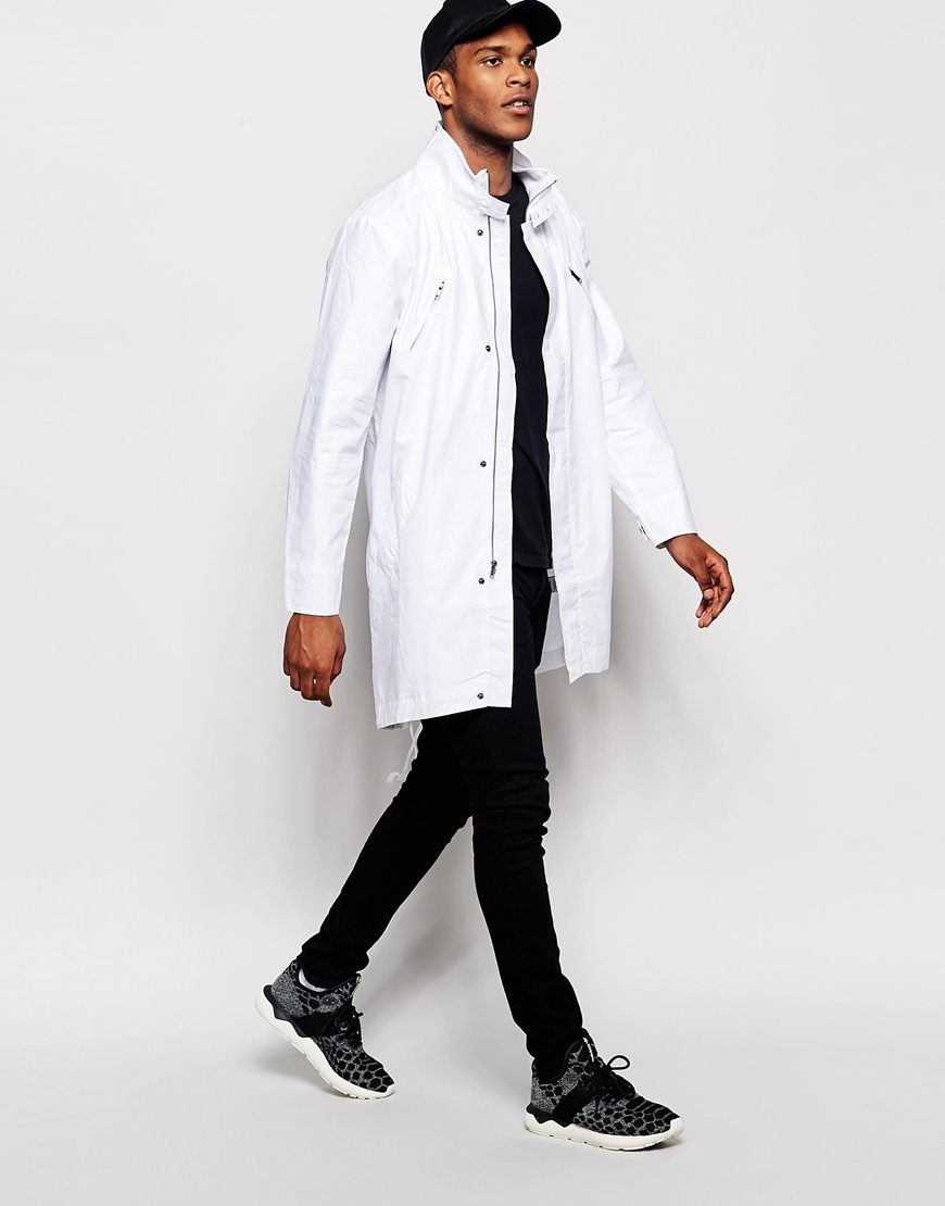 Standard issue Exclusive Military Parka in White for Men | Lyst