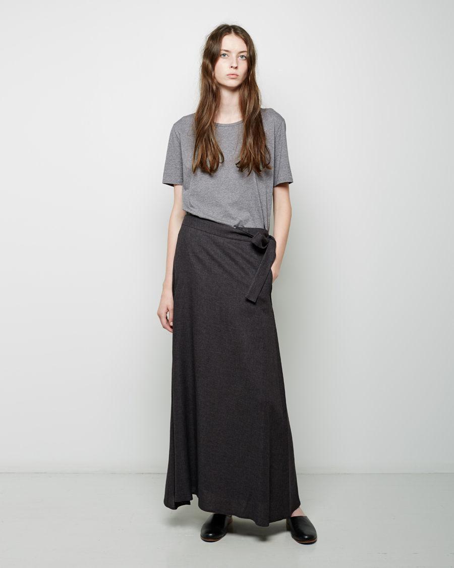 Blue Life Aura Flannel Wrap Skirt