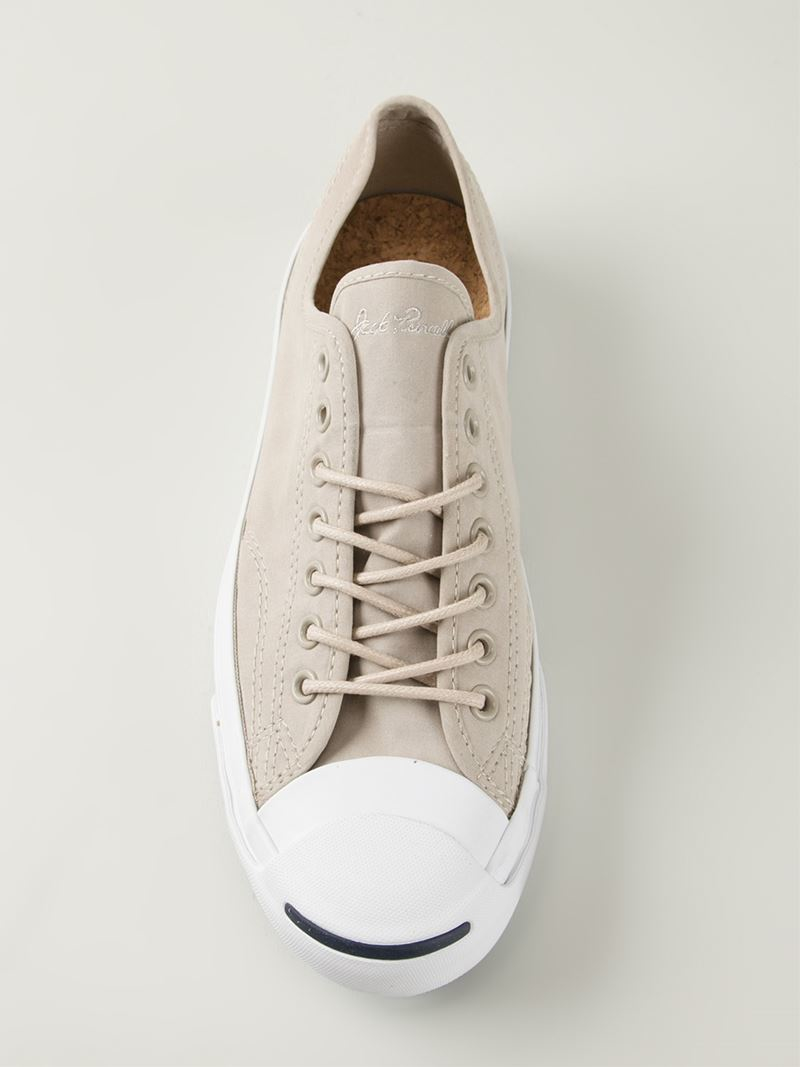 Lyst - Converse Jack Purcell Signature Sneakers in Natural for Men b9f9e1dc6
