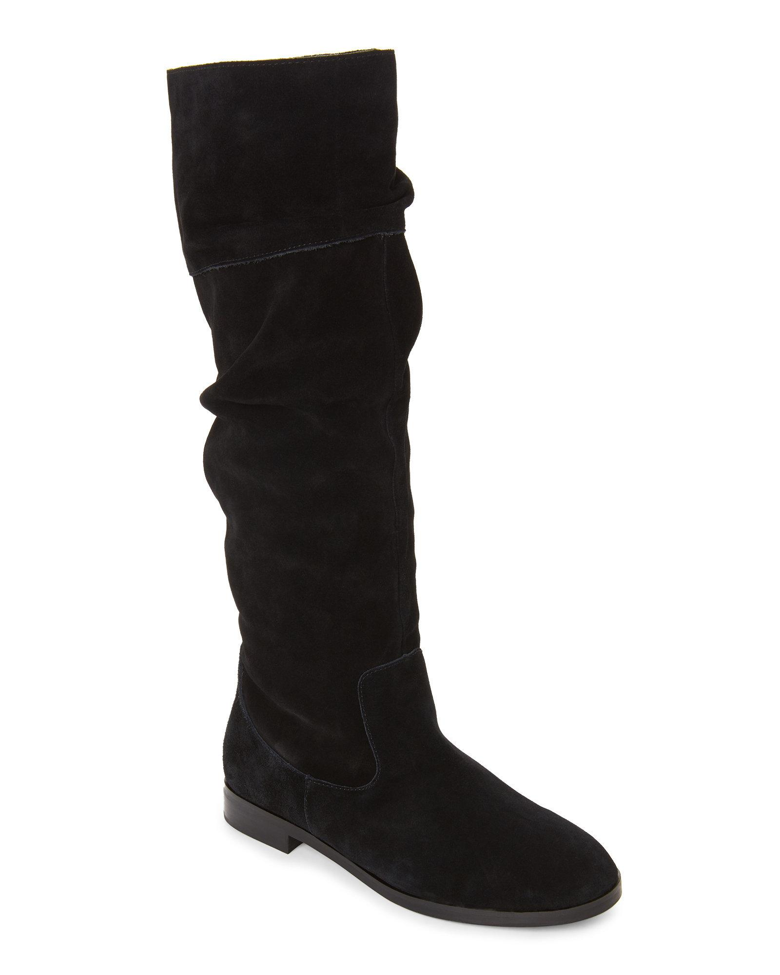 aff1c57b08b Lyst - Steve Madden Womens Balen Suede Almond Toe Knee High Fashion ...