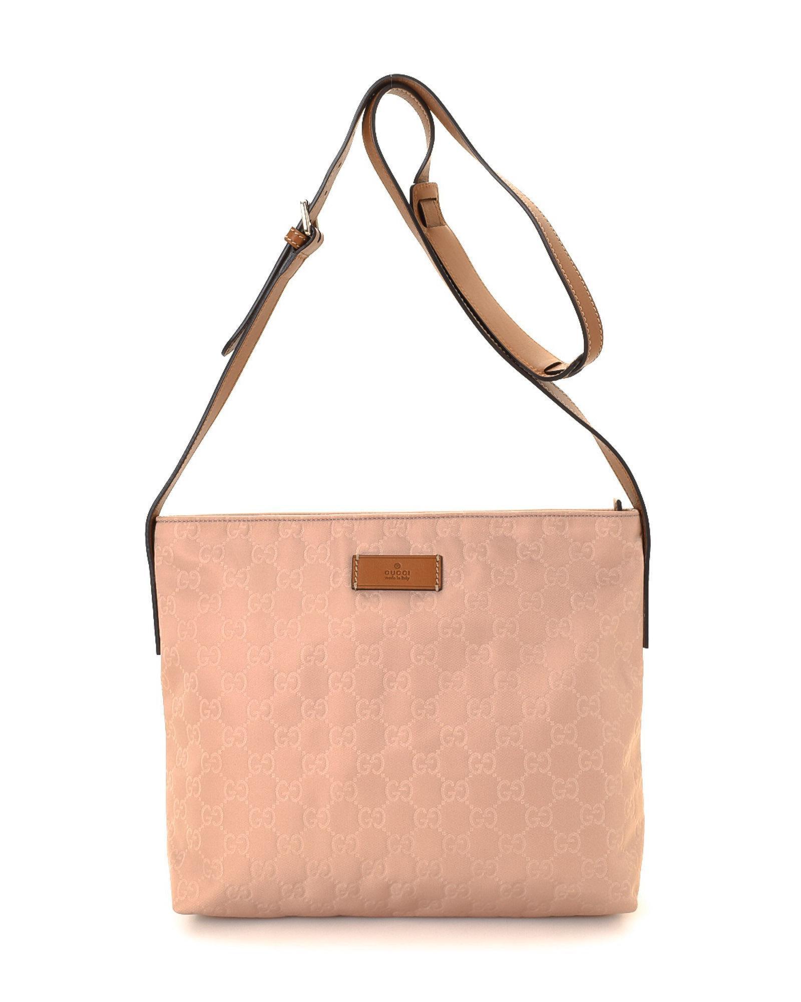 f2b71c89cdd Lyst - Gucci Gg Canvas Crossbody Bag - Vintage