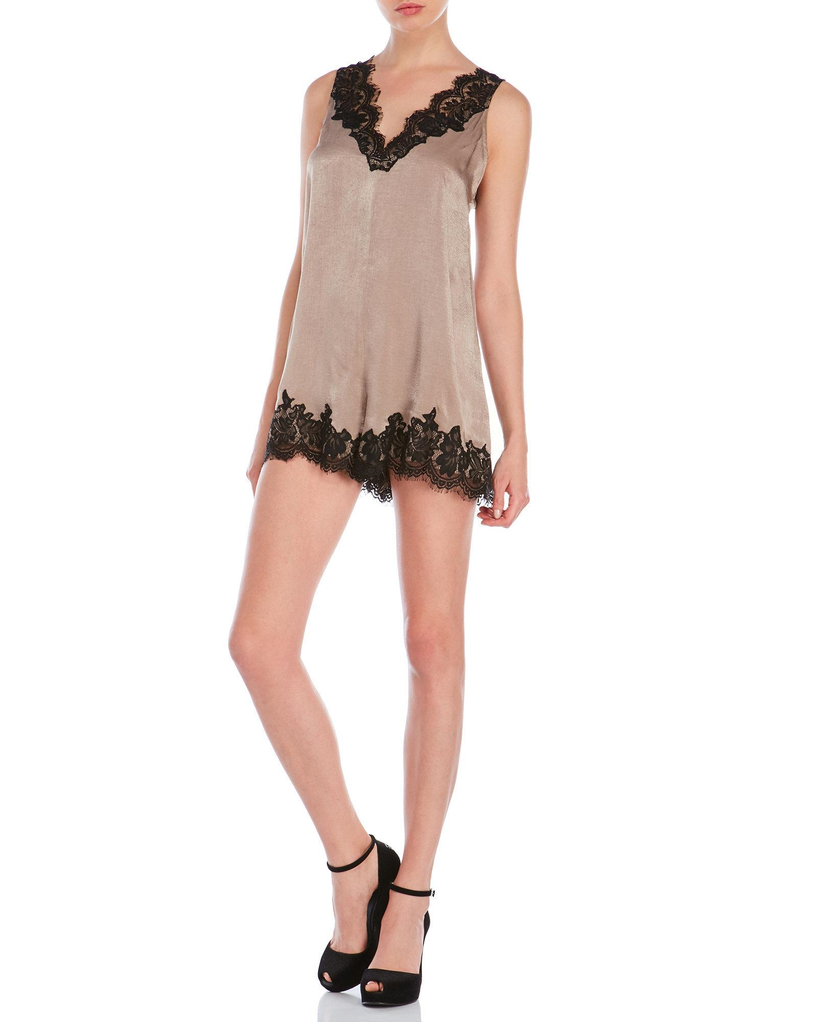 a7035eb32e4 Gallery. Previously sold at  Century 21 · Women s Lace Rompers ...