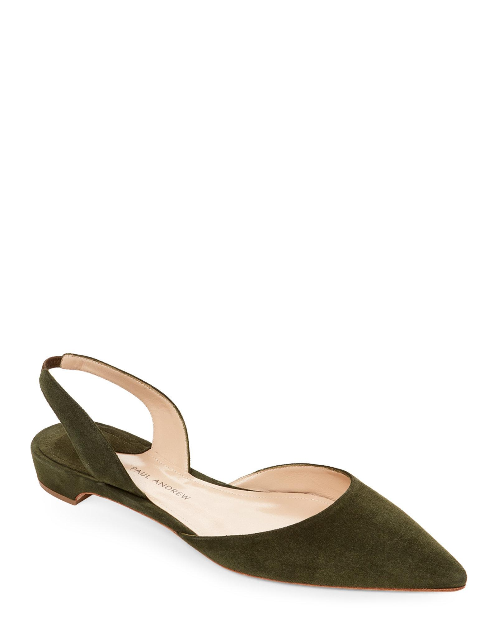 Paul Andrew 2018 Rhea Slingback Flats w/ Tags cheap visit free shipping Manchester many kinds of for sale 100% authentic best seller online 9Kk9V