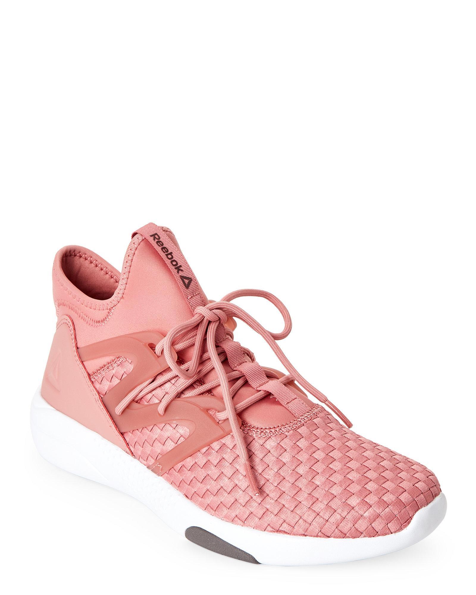 e41d4ce3561 Lyst - Reebok Rose   Sienna Hayasu Training Sneakers in Pink