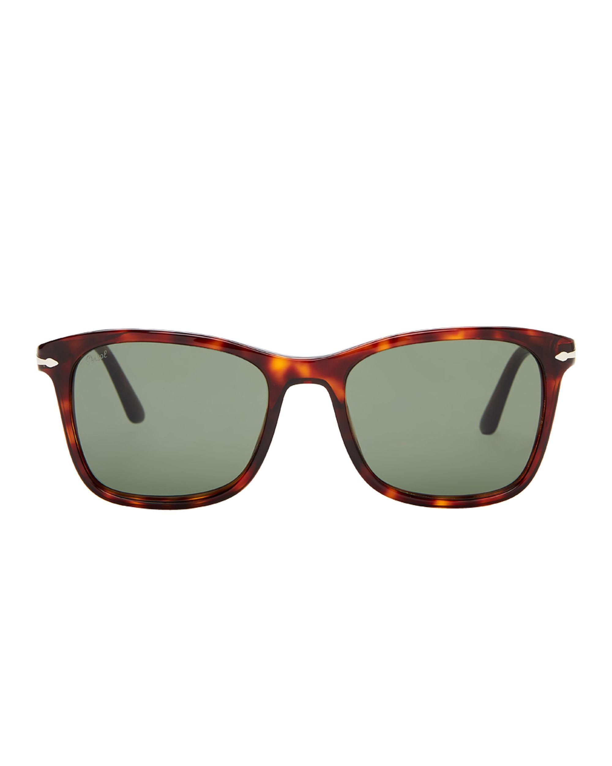 35889332ce Lyst - Persol Po3192-s Tortoiseshell-look Square Sunglasses in Brown for Men