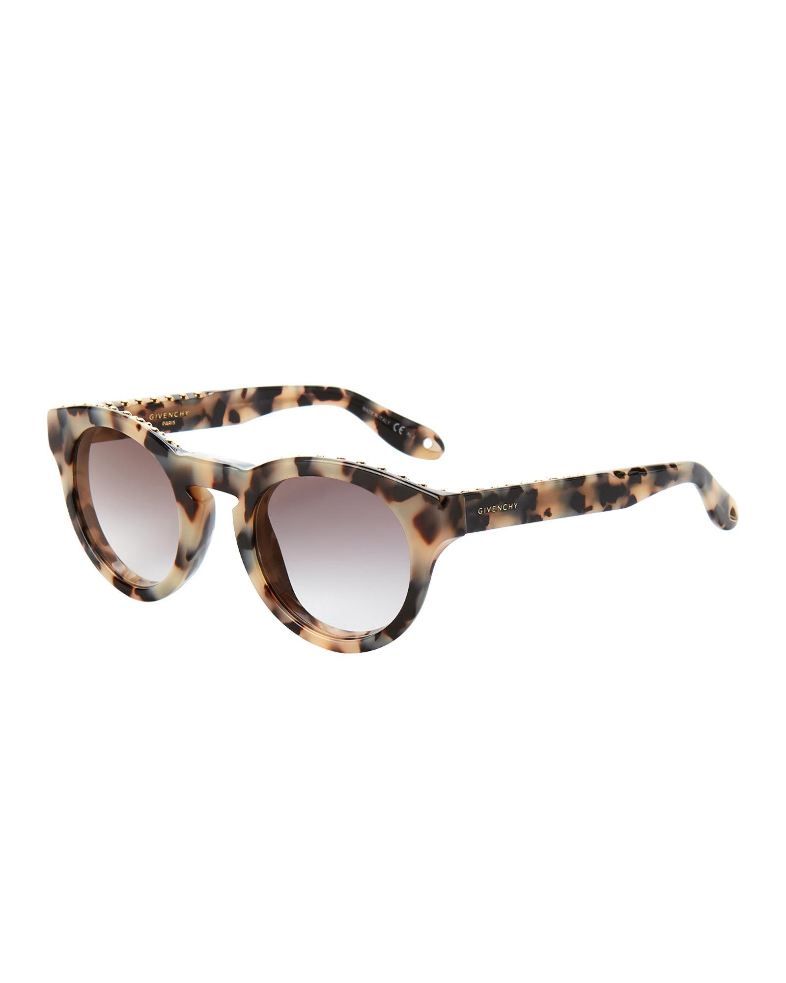d948975a3 Givenchy Gv 7007/s Smoke Havana Round Sunglasses in Brown - Lyst