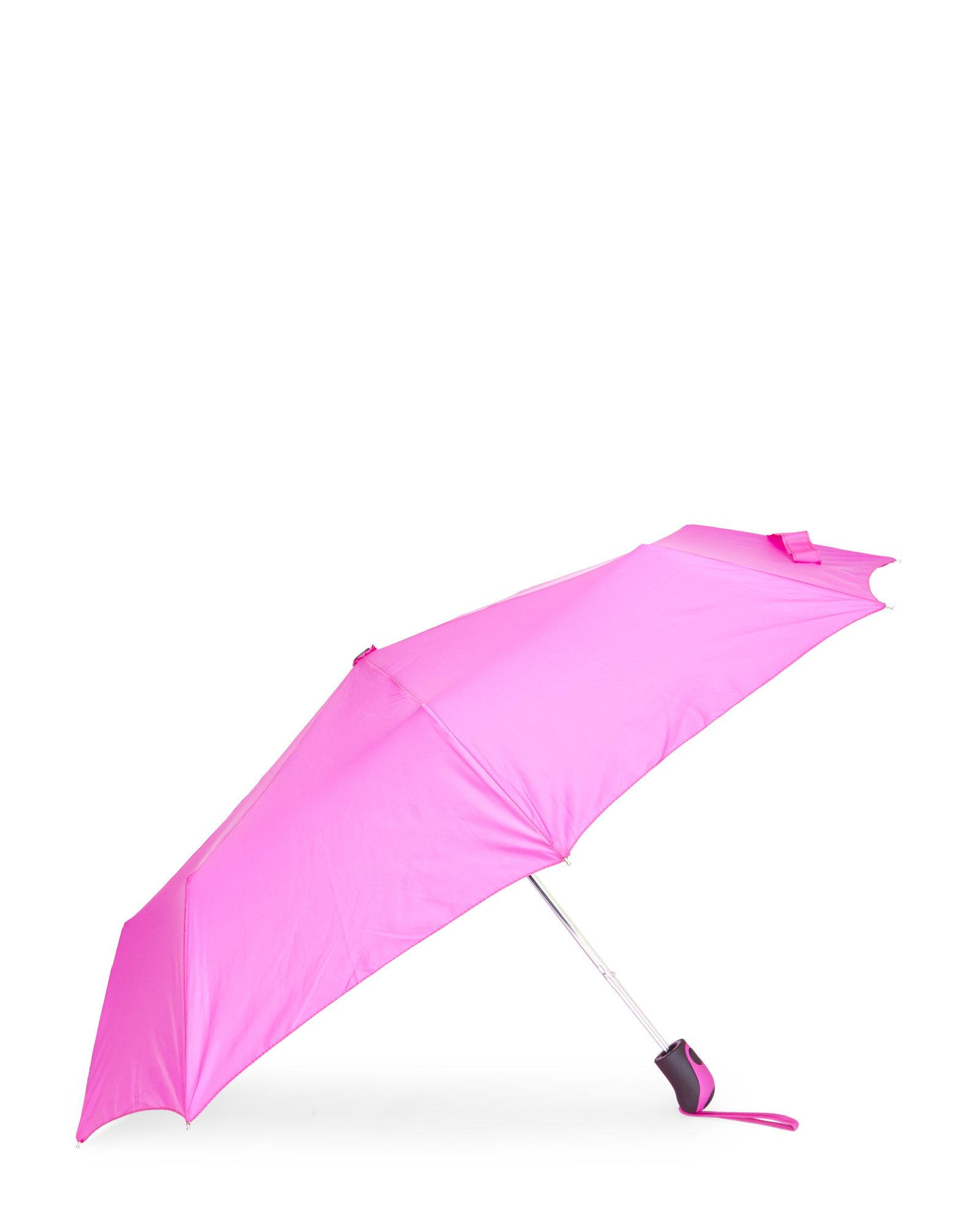 616f459f4b55 Lyst - Shedrain Rubber Handle Umbrella in Purple