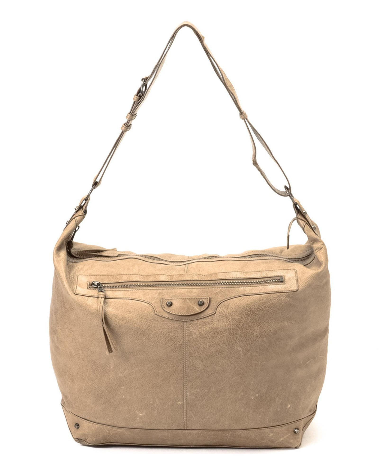 3e1c3d036f62f Lyst - Balenciaga Courier Shoulder Bag - Vintage