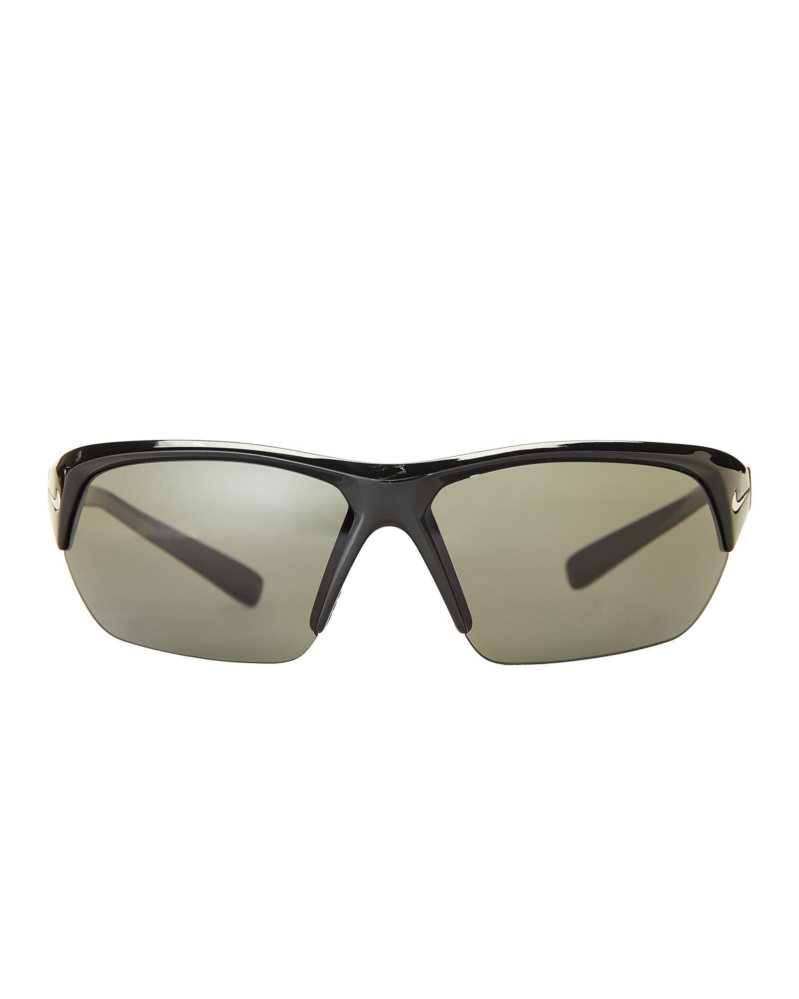 20159481dba Lyst - Nike Ev1127 Black Skylon Ace P Polarized Wrap Sunglasses in Black  for Men