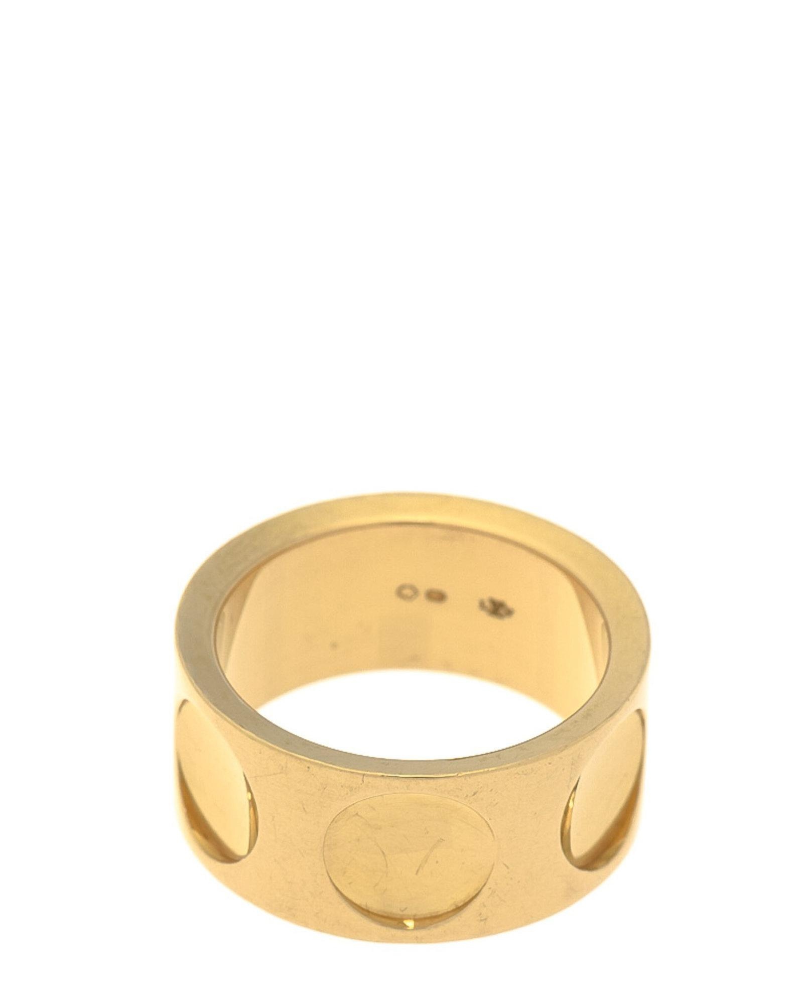 5cff26607b8c Louis Vuitton Empreinte Ring - Vintage in Metallic - Lyst