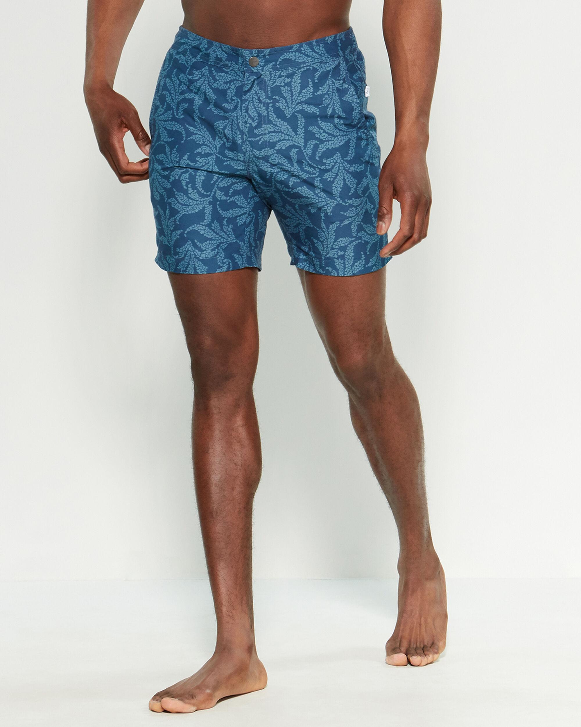 9564c5559d Onia Ensign Blue Coral Paisley Calder Swim Trunks in Blue for Men - Lyst